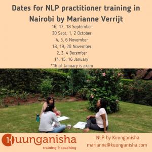 Intensive NLP Practitioner level training