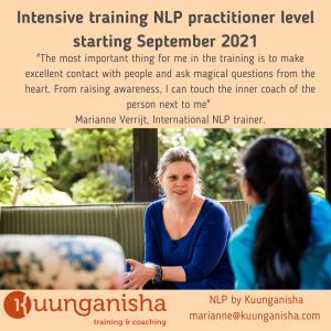 NLP Practitioner Level Training